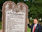 Arkansas' Ten Commandments monument destroyed