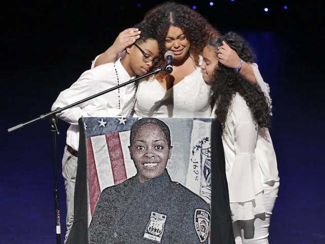 NYPD Officer Miosotis Familia's wake, funeral held in NYC