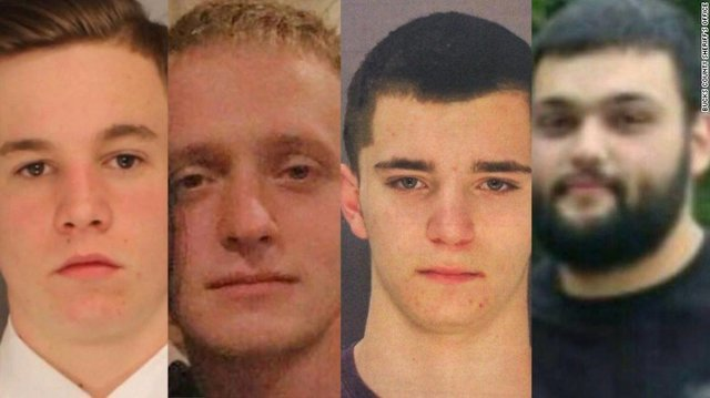 Pair charged with killing 4 missing men in Bucks County