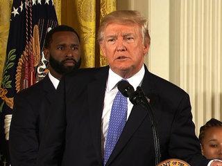 Trump held 'major briefing' on opioid crisis