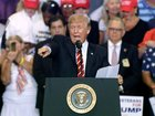 Trump praises unity after fiery rally