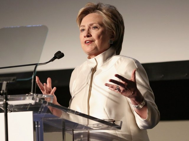 Hillary Says She's 'Done With Being a Candidate'