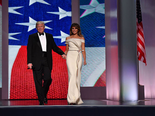 Conspiracy theorists claim actor is filling in for Melania Trump