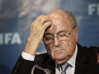 FIFA hands down stiff penalty to its president