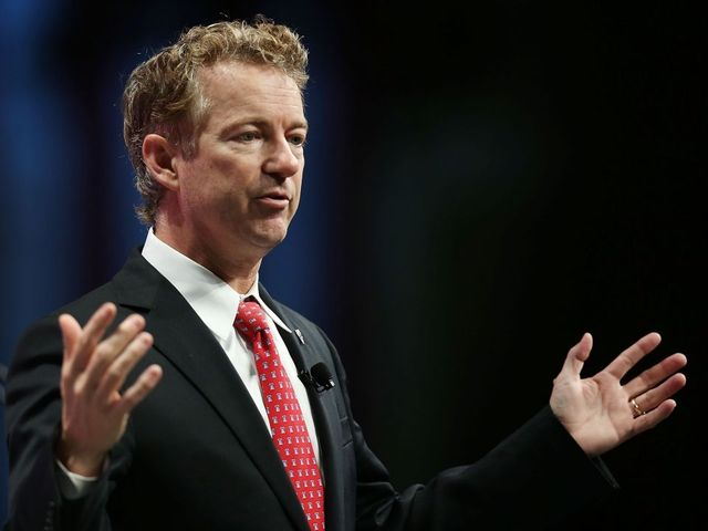 Rand Paul blocking spending vote, says can't 'look the other way'