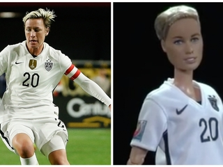 New Barbie modeled after soccer's Abby Wambach
