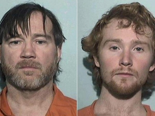 Girl held captive; father and son arrested