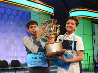 National spelling bee co-champ to be honored