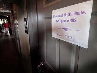 Judge blocks UNC from enforcing bathroom law