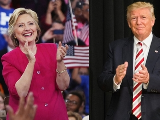 New poll shows Trump gaining on Clinton