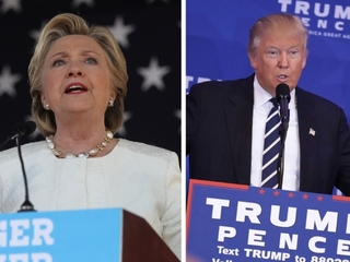 Clinton, Trump in tight race in New Hampshire