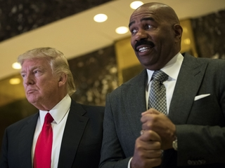 Steve Harvey offers to help Trump administration