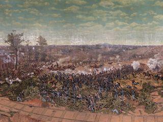 Atlanta to move 6-ton Civil War painting