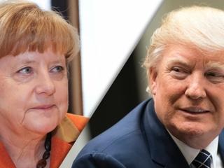 Trump, Merkel already have a history