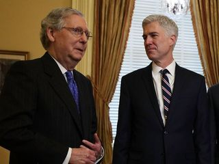 McConnell files cloture on Gorsuch nomination
