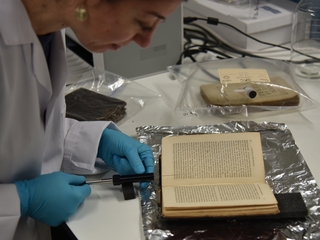Scientists are archiving the smell of old books