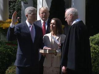 Neil Gorsuch sworn in as SCOTUS justice