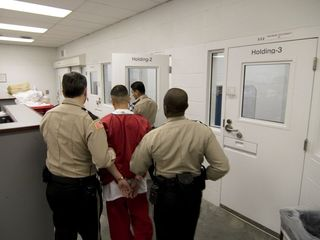 Over 700 inmates strike at ICE detention center