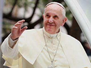 Pope Francis speaks in Egypt