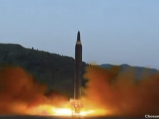 Nuke missile could fly over Japan