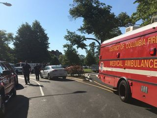 9 injured during protest outside Turkish Embassy