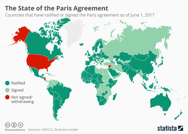 Map: The state of the Paris agreement - WKBW.com Buffalo, NY