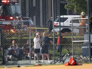 1 congressman shot at baseball practice