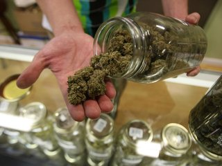 Recreational pot states link to collision claims