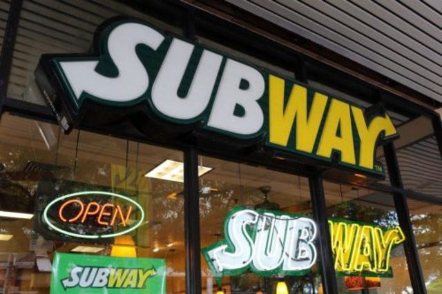Subway plans to close around 500 stores in North America this year