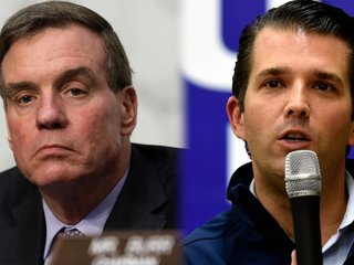 Warner 'absolutely' wants to hear from Trump Jr.