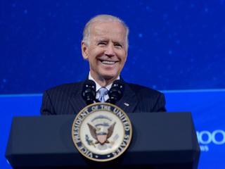 Joe Biden comforts Meghan McCain on 'The View'