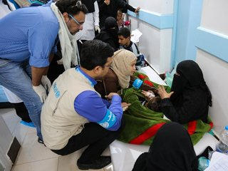 500,000 in Yemen may have cholera, WHO says