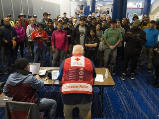American Red Cross backlash amid Harvey efforts