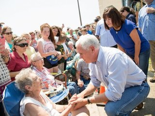 Pence, Trump trips to Texas differed