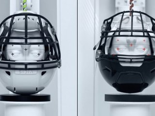 This football helmet could be a game changer