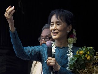 Myanmar's leader didn't say much about Rohingya