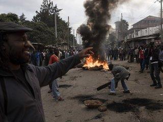 Kenya's opposition backs out of do-over election
