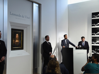 Rare da Vinci painting to to sell at NYC auction