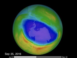 Something is keeping the ozone from healing