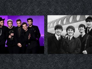 One Direction ties record set by Beatles