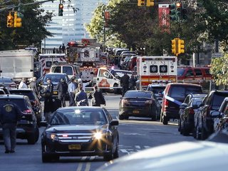 New York terror attack used rented truck