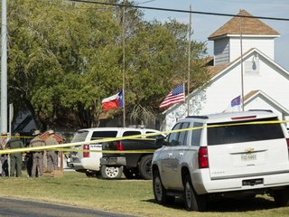 At least 26 killed in Texas church shooting