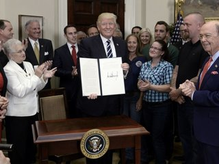 Trump announces 'National Apprenticeship Week'