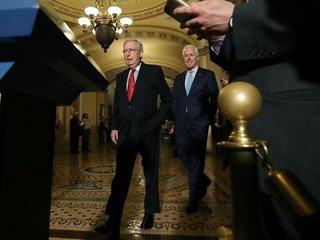 Senate GOP to end individual mandate in tax bill