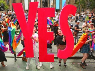 7.8M Australians vote 'yes' to same-sex marriage