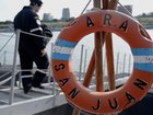 Rescuers hunt for missing Argentine submarine