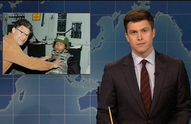 'SNL' chastises alum Al Franken over sexual misconduct during 'Weekend Update'
