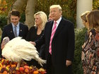 President Trump at Mar-a-Lago for Thanksgiving