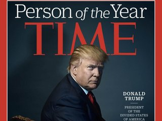 Time and Trump disagree over 2017 POY cover