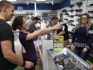 Record number of gun background checks requested